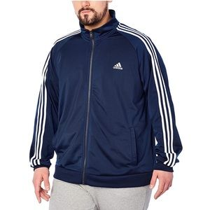 Adidas Essentials 3-Stripe Tricot Track Jacket 2XL